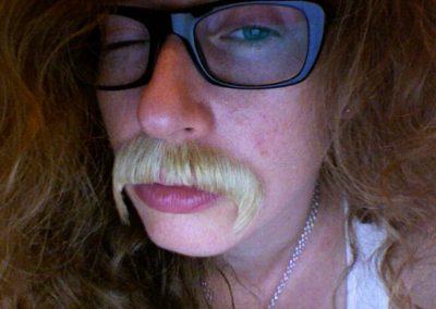 Katie Bethune Leamen: Moustache Ride
