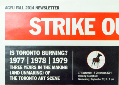Strike Out There! Is Toronto Burning?