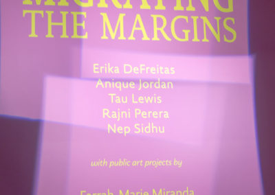 Opening of Migrating the Margins, Art Gallery of York University