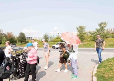 Sister Coresister walk, Suburban Hospitality, Art Gallery of York University
