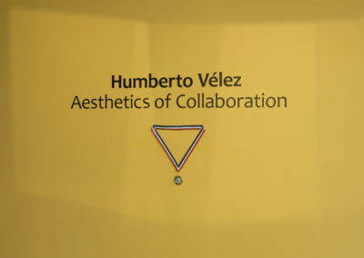 Humberto Vélez  Aesthetics of Collaboration