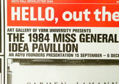 Hello, Out There: The 1984 Miss General Idea Pavillion