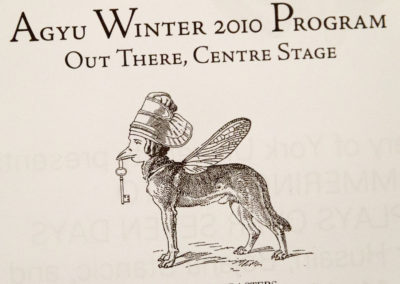 Out There, Centre Stage: AGYU'S Winter 2010 Cast and Characters