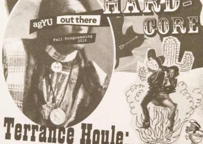 Out there, Hardcore: Terrance Houle