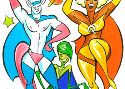 AGYU @ Pride 2013: Superheroes!