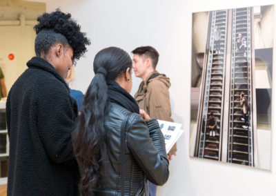 Opening reception for Communities of Love. Photograph by Candace Nyaomi. All rights reserved.
