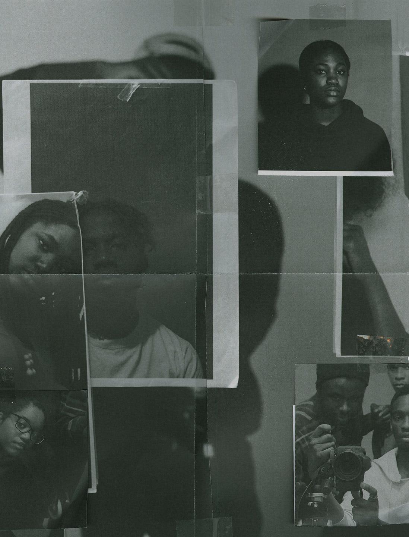 Sarah May Taylor, Shell, paper collage, 2020