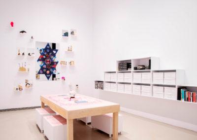 Jess Dobkin's Wetrospective installation views. Photo: Yuula Benivolski